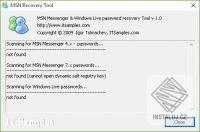 MSN & Windows Live Recovery Tool