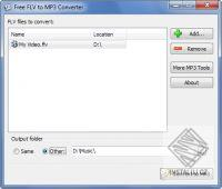 Free FLV to MP3 Converter