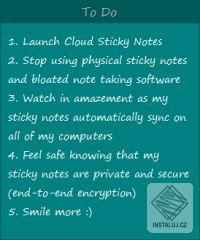 Cloud Sticky Notes
