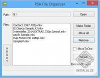 PSA Folder Organizer