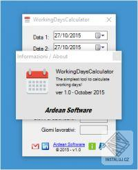 WorkingDaysCalculator