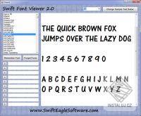 Swift Font Viewer