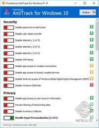 AntiTrack for Windows 10