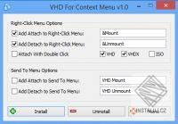 VHD For Context Menu
