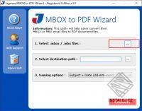 Jagware MBOX to PDF Wizard
