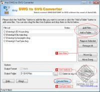 DWG to SVG Converter