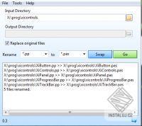 Batch File Extension Renamer