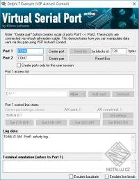 Virtual Serial Port ActiveX