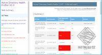 Active Directory Health Profiler