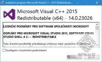 Souèásti Visual C++ pro Visual Studio 2015