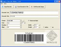 Simple Barcode Maker