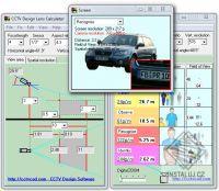 CCTV Design Lens Calculator