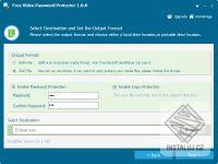 Free Video Password Protector