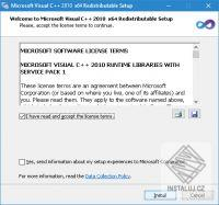 Součásti Visual C++ pro Visual Studio 2010