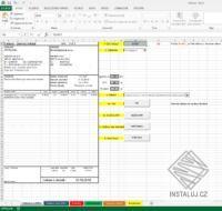 Faktura v Excelu