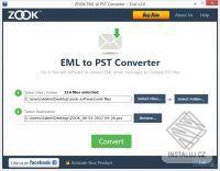 ZOOK EML to PST Converter