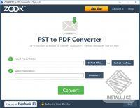 ZOOK PST to PDF Converter
