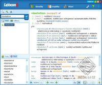Lexicon 5 Francouzský technický slovník
