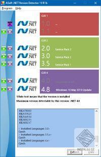.NET Version Detector