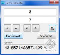 Gefts Calculator