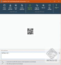 QR Code Desktop Reader & Generator