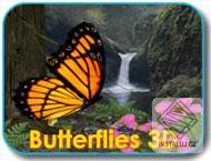 Butterflies3D