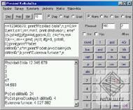 Precizní Kalkulačka