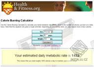Calorie Burning Calculator