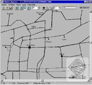 Simulace silniční dopravy ve městě