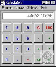 Kalkulačka -  SionSoftware