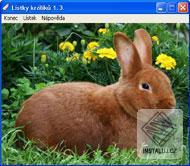 Lístky králíků