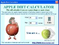 Apple Diet Calculator