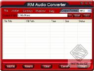 RM Audio Converter