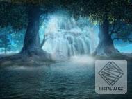 Enchanted Waterfall Screensaver