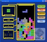 Tetris Game Gold