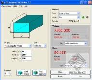 AVD Volume Calculator