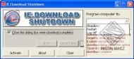 IE.Download Shutdown