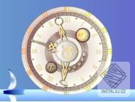 Zodiac Clock screensaver