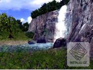 Waterfall 3D screensaver