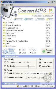 Convert MP3