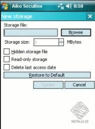 Secubox for Pocket PC