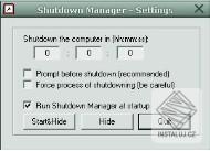 Shutdown Manager