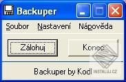 Backuper - Kodl Software