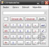 CZD Kalkulačka