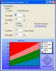 FinitySoft BMI Calculator