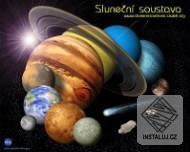 Rozměry sluneční soustavy