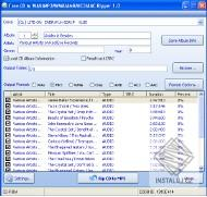 Free CD to WAV MP3 WMA AMR AC3 AAC Ripper