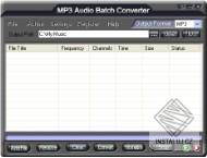 MP3 Audio Batch Converter