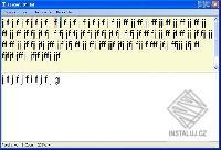 Psan� na PC kl�vesnici