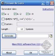 Passwords Guru